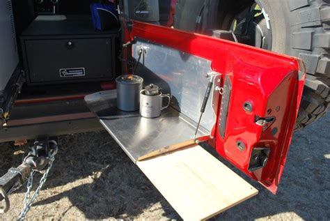 Diy Tailgate Table Jeep Compass