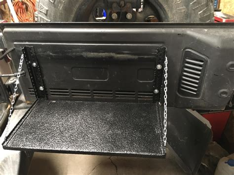 Diy Tailgate Table Jeep Parts