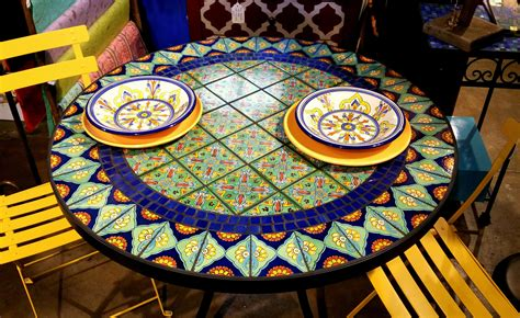 Diy Talavera Table