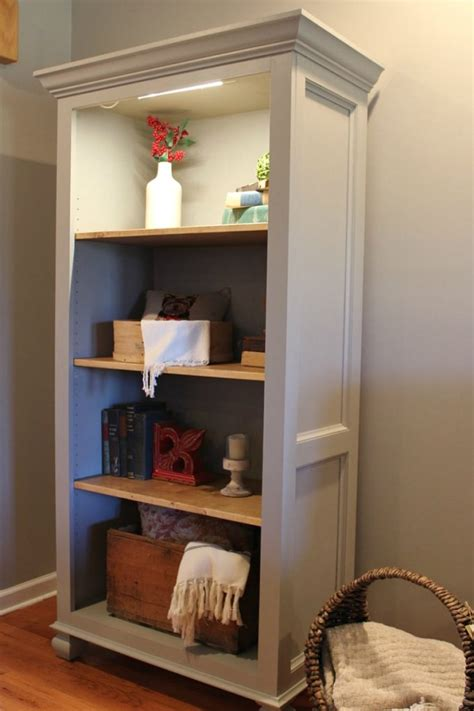 Diy Tall Bookshelf