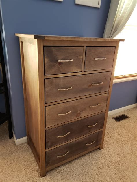 Diy Tall Dresser Project