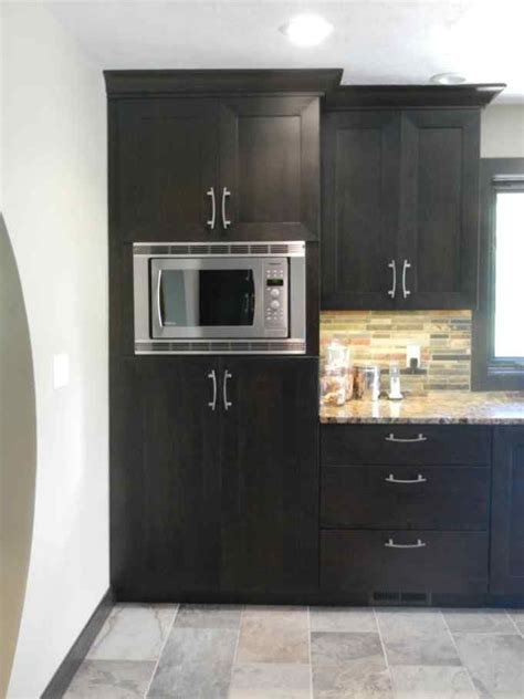 Diy Tall Microwave Cabinet