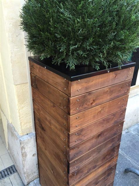 Diy Tall Planter Box Designs