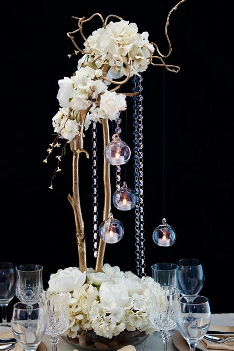 Diy Tall Table Centerpieces