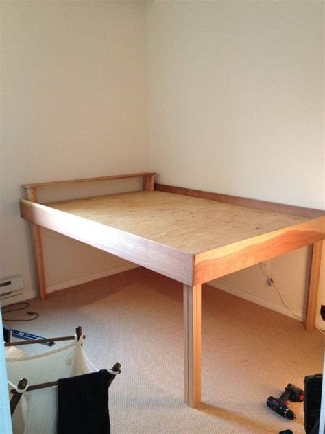 Diy Tall Twin Bed Frame