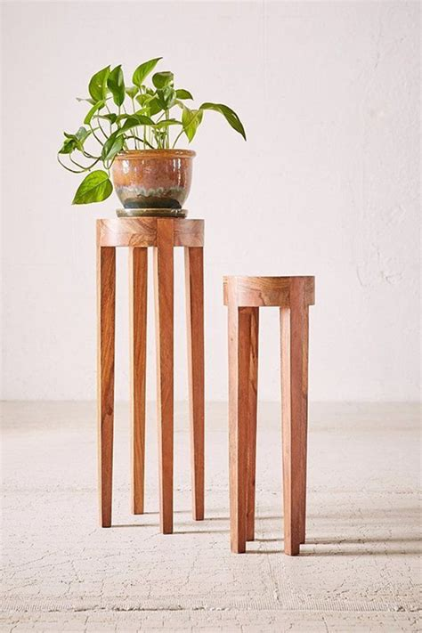 Diy Tall Wood Plant Stand