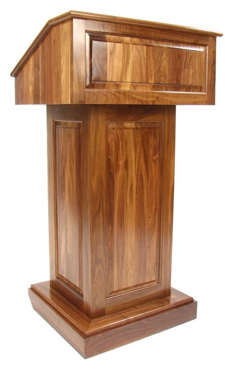 Diy Tall Wood Podium For Church