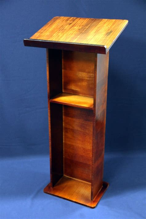 Diy Tall Wood Podium Prices