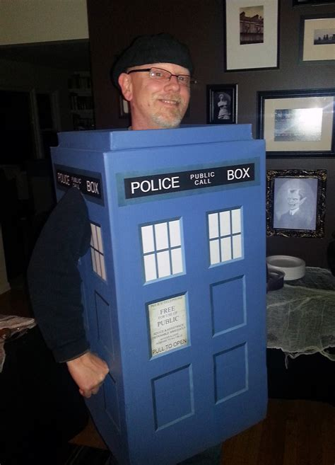 Diy Tardis Costume