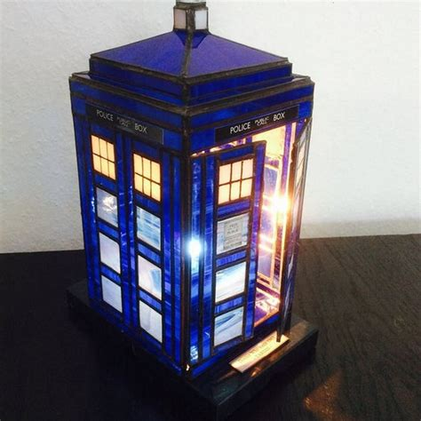 Diy Tardis Lamp