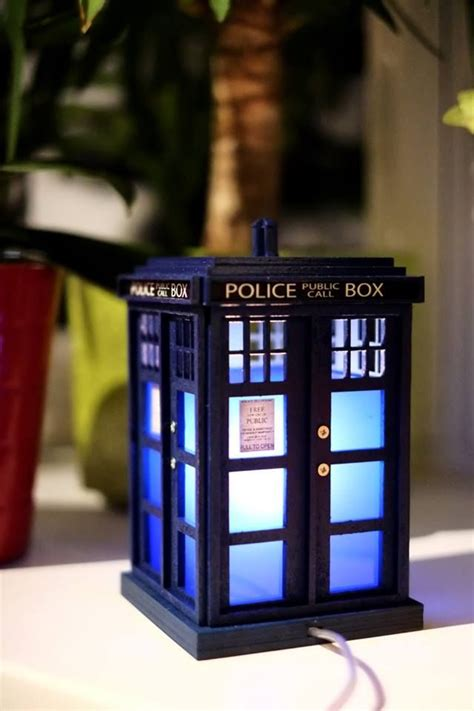 Diy Tardis Light Sign