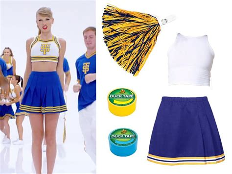 Diy Taylor Swift Cheerleader Costume