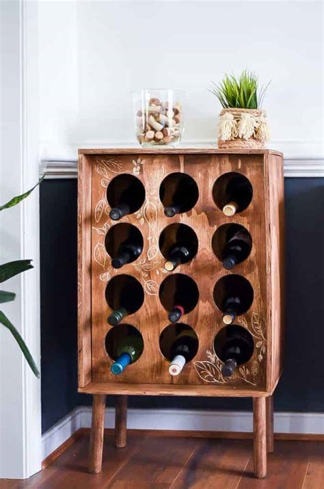 Diy Tech Wine Rack