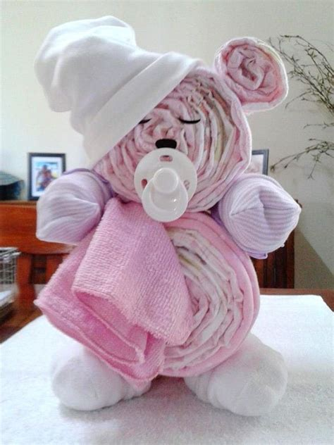 Diy Teddy Bear Diaper Cake Directions