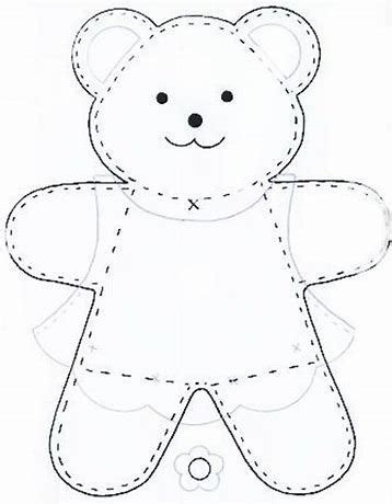 Diy Teddy Bear Template
