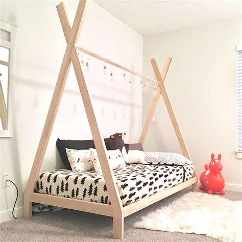 Diy Teepee Bed Frame