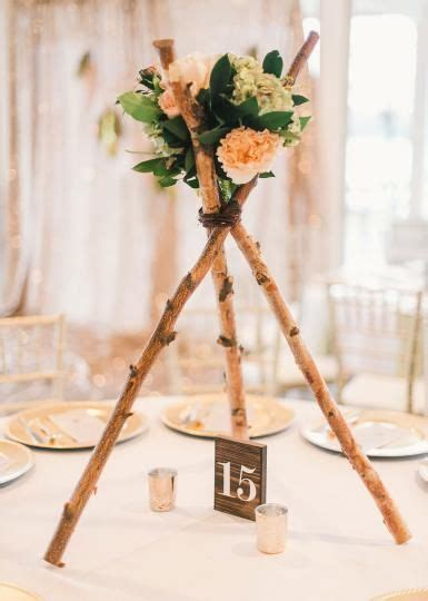 Diy Teepee Centerpiece