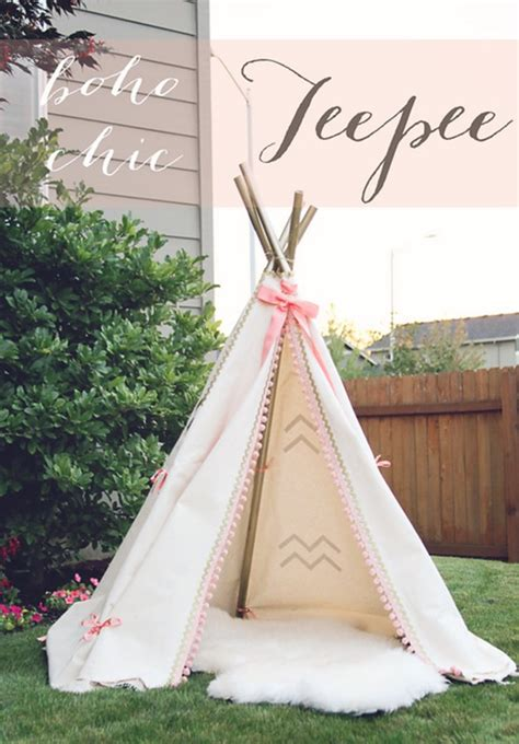 Diy Teepee Decorations
