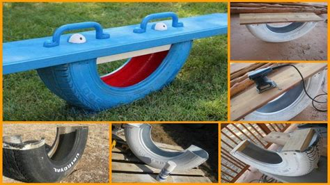 Diy Teeter Totter Tire