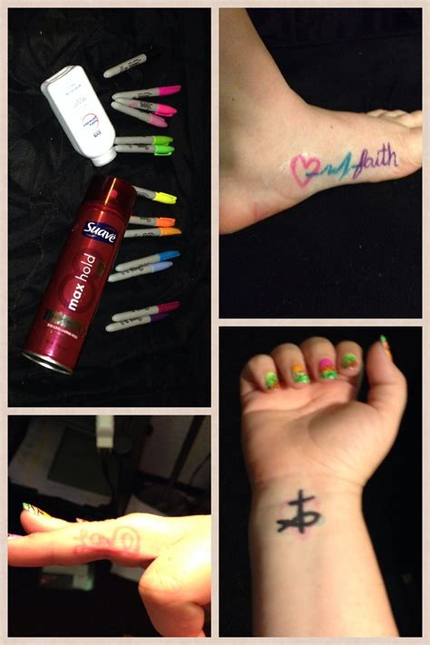 Diy Temporary Tattoo Ink