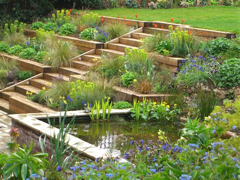 Diy Terraced Backyard