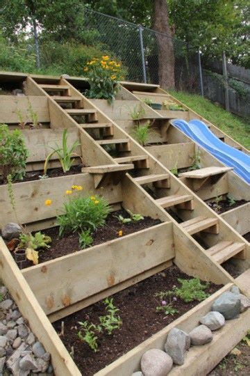 Diy Terraced Garden Beds
