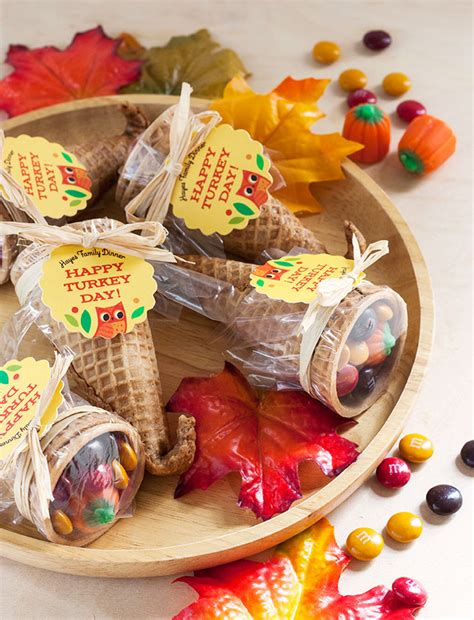 Diy Thanksgiving Favor Ideas