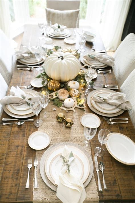 Diy Thanksgiving Tablescape