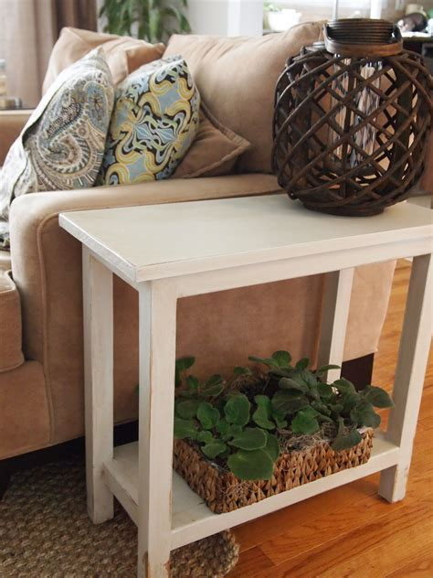 Diy Thin End Table