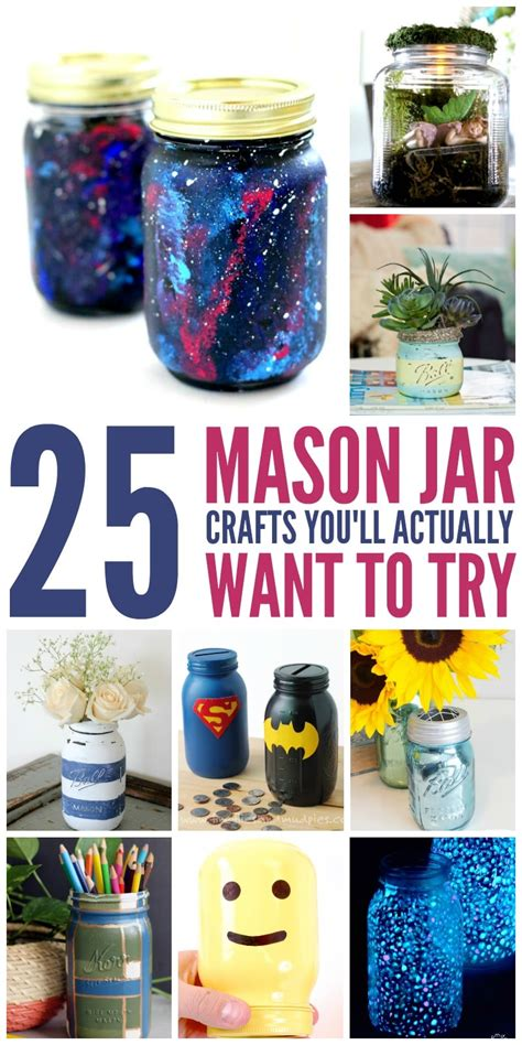 Diy Things To Make With A Mason Jar