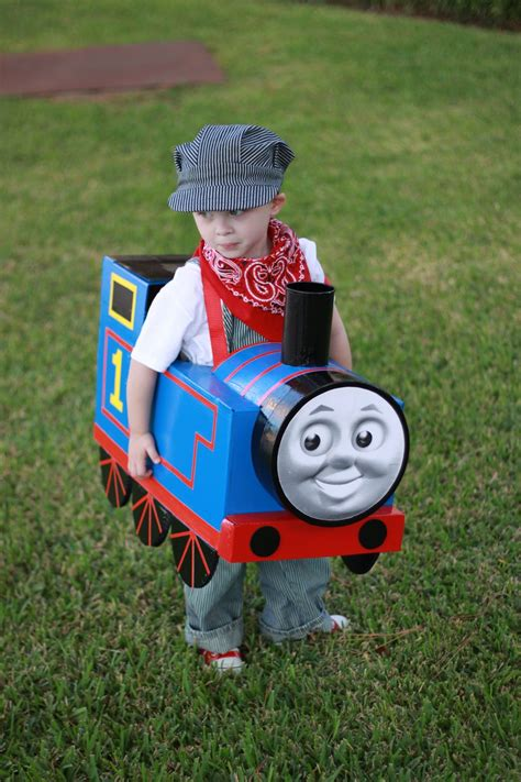 Diy Thomas The Train Costumes For Toddlers