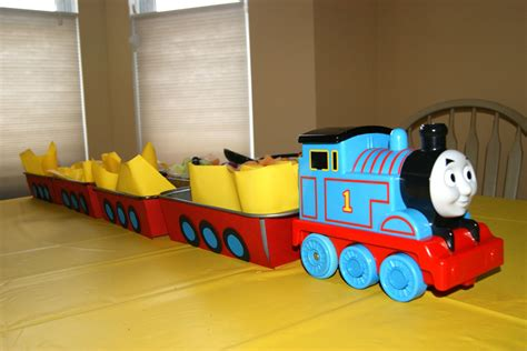 Diy Thomas The Train Decorations