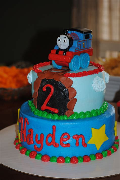 Diy Thomas The Train Smash Cake