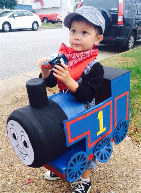 Diy Thomas Train Costume