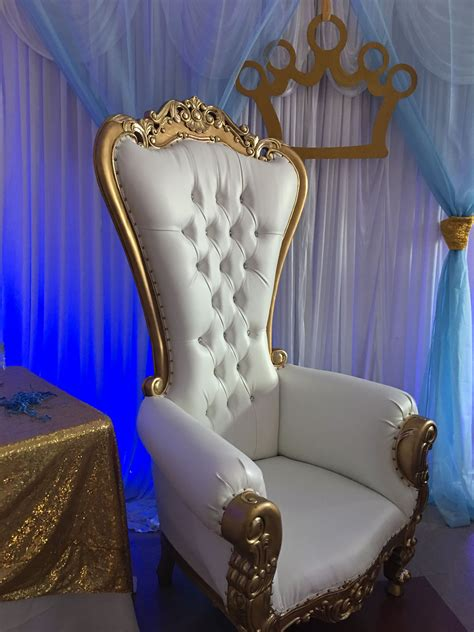 Diy Throne Chair Decor