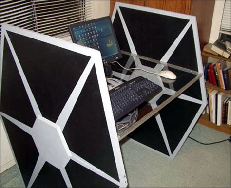 Diy Tie Fighter Desk