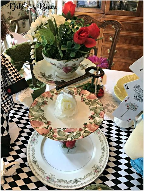 Diy Tiered Stands For Tea Party