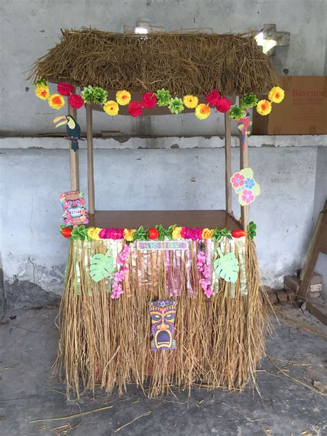 Diy Tiki Bar For Kids Birthday