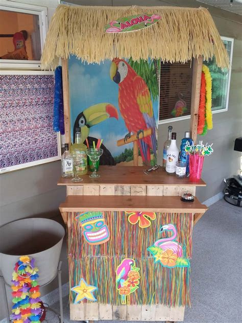 Diy Tiki Bar On Wheels