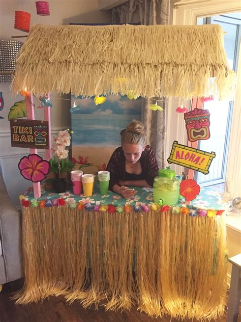 Diy Tiki Bar Party