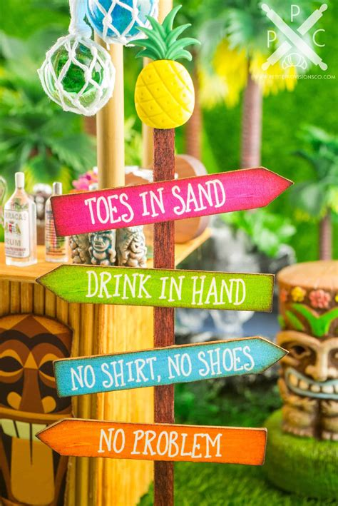 Diy Tiki Bar Sign