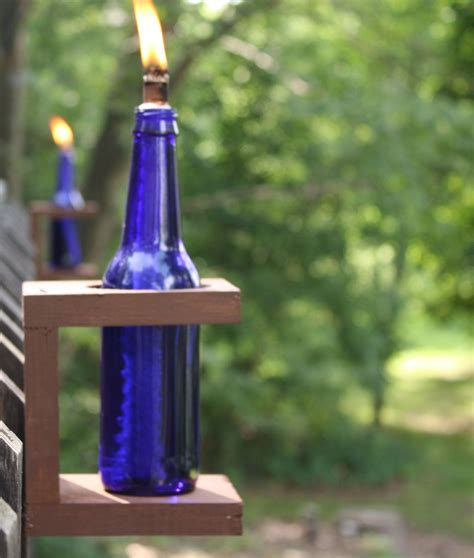 Diy Tiki Torch Holders