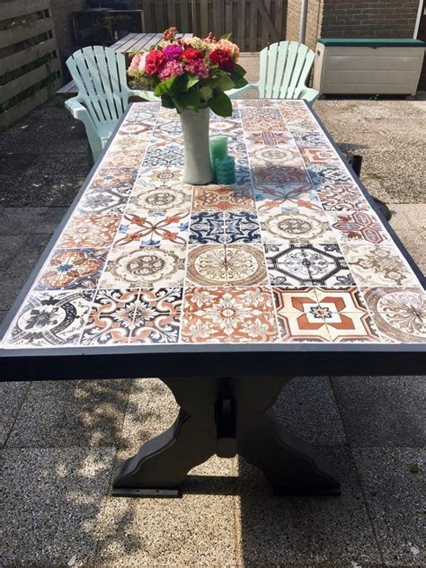 Diy Tile Top Dining Table