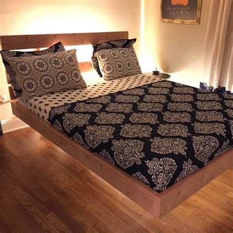 Diy Timber Bed Designs