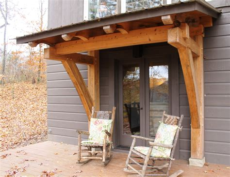 Diy Timber Frame Porch