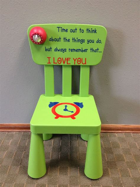 Diy Timeout Stool With Timer