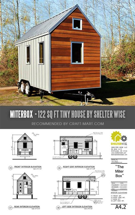 Diy Tiny House Plans For A 12x6 Trailer