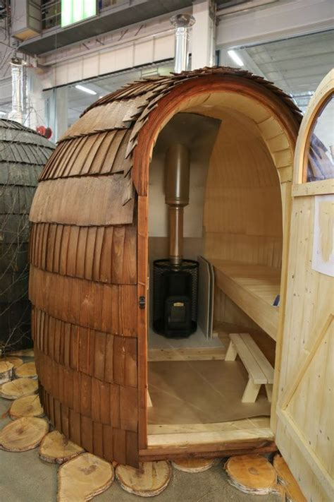 Diy Tiny Outdoor Wood Sauna