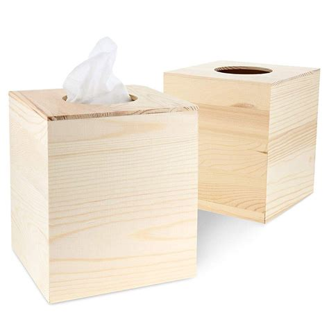 Diy Tissue Box Cover Wood