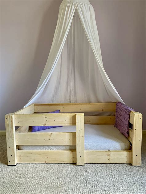 Diy Toddler Bed Using Crib Mattress Plans